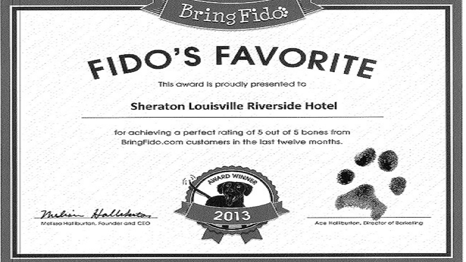 Louisville Pet Friendly Hotels | Sheraton Louisville Riverside Hotel